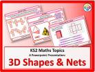 3D Shapes and Nets for KS2