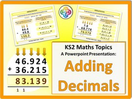 Adding Decimals for KS2