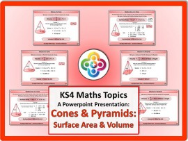 Cones and Pyramids: Surface Area & Volume for KS4