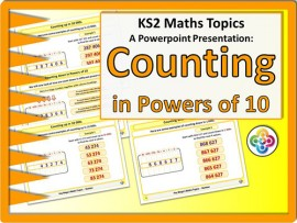 Counting in Powers of 10 for KS2