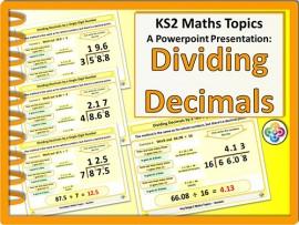 Dividing Decimals for KS2