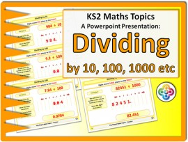 Dividing by 10, 100, 1000 for KS2