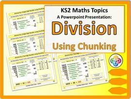 Division using Chunking for KS2