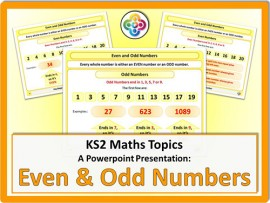Even and Odd Numbers for KS2