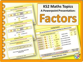 Factors for KS2