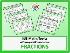 Fractions for KS3