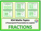 Fractions for KS4