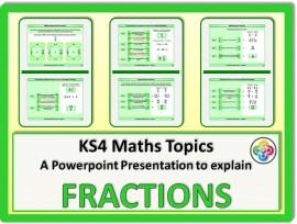 Fractions for KS4
