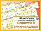 Geometric and Other Sequences for KS4