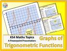 Graphs of Trigonometric Functions for KS4