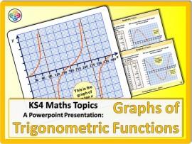 Graphs of Trigonometric Functions for KS4