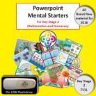Full KS2 Powerpoint Mental Starters - Pay by Invoice