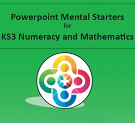 ** NEW ** KS3 Powerpoint Mental Starters 2017 Invoice Pay