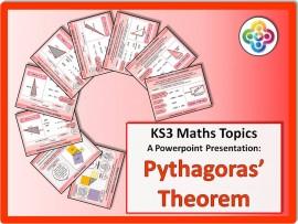 Pythagoras' Theorem for KS3