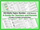Maths Topics KS3 Number: a PDF Guide for Teachers and Parents