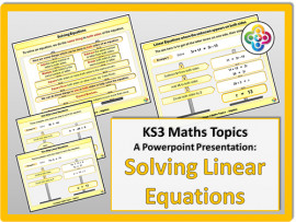 Solving Linear Equations for KS3
