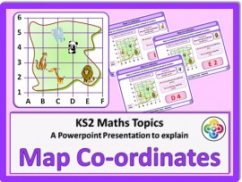 Map Co-ordinates for KS2