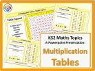 Multiplication Tables for KS2