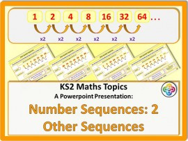 Number Sequences 2: Other Sequences for KS2