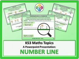 Number Line for KS3