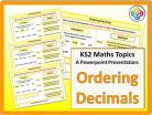 Ordering Decimals for KS2