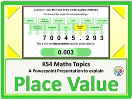 Place Value for KS4