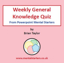 Weekly General Knowledge Quiz A