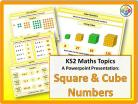 Square and Cube Numbers for KS2