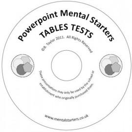 Tables Tests Digital Download