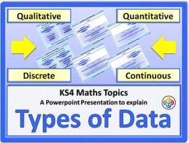 Types of Data for KS4