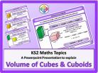 Volume of Cubes and Cuboids for KS2