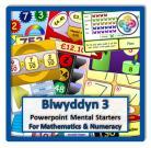 Blwyddyn 3 Powerpoint Mental Starters *WELSH*