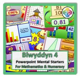 Blwyddyn 4 Powerpoint Mental Starters *WELSH*