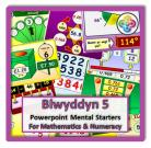 Blwyddyn 5 Powerpoint Mental Starters *WELSH*