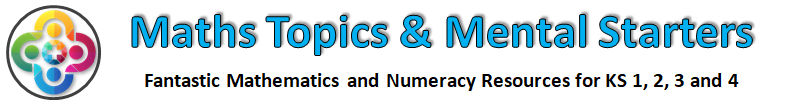 Number Line for KS3 - Maths Mental Starters - Powerpoint Resources for Teachers